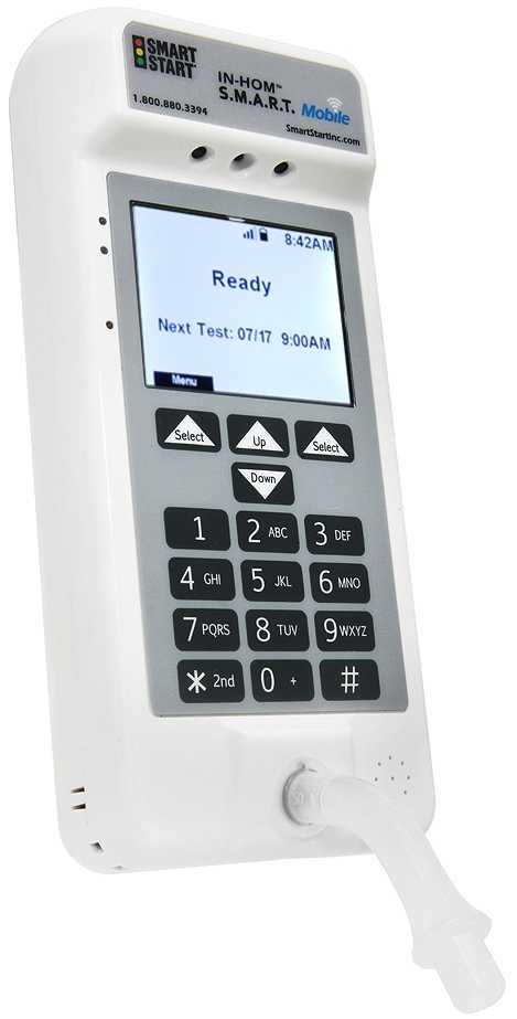 Portable Breathalyzer Test >> S.M.A.R.T. Mobile Home Breathalyzer | Smart Start®