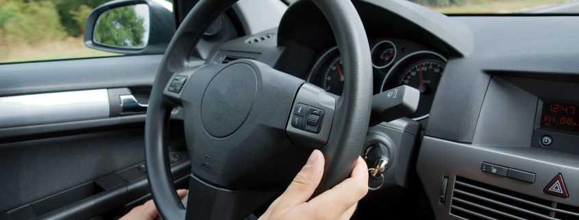 Smart Start Inside Vehicle