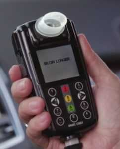 BLOW LONGER message on Smart Start Interlock Device