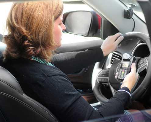 Smart Start SSI-20/30 Ignition Interlock Device in Vehicle