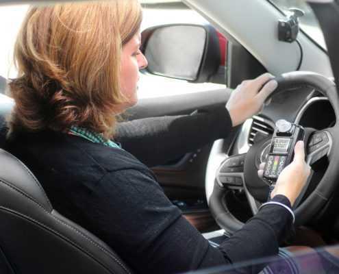 Smart Start 20/30 Ignition Interlock Device Inside Vehicle with Camera