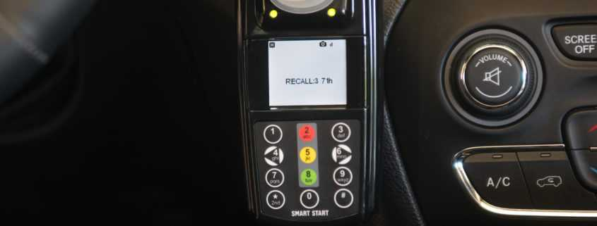 Series  What Does Recall 3 Mean On My Ignition Interlock