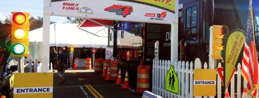 North Carolina Safety City Area at State Fair