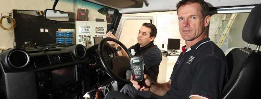 Smart Start Australia demonstrating Smart Start's Ignition Interlock Device