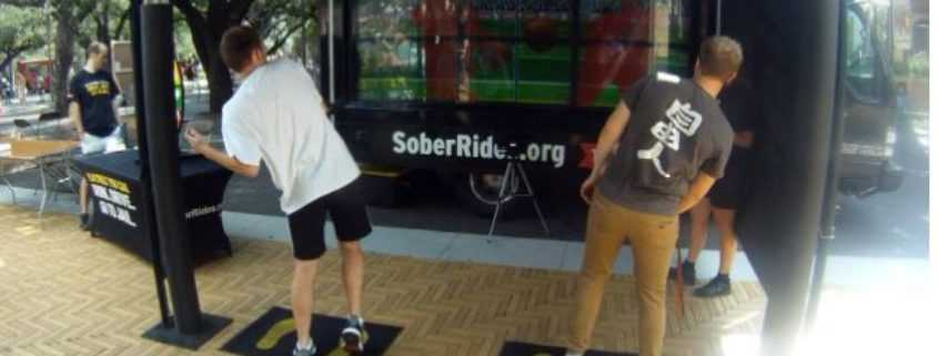 TxDOT Virtual Dodgeball to Prevent Drunk Driving