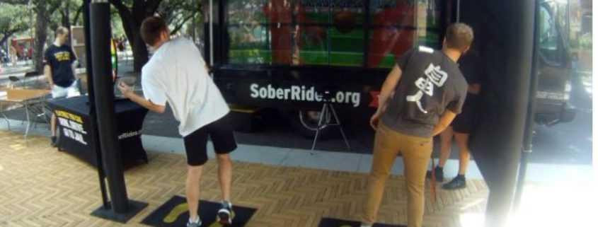 TxDOT Virtual Dodgeball to Prevent Drunk Driving