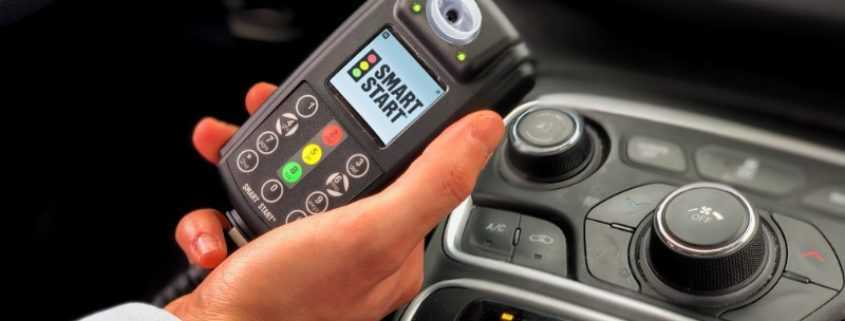 Smart Start Ignition Interlock Held in Vehicle