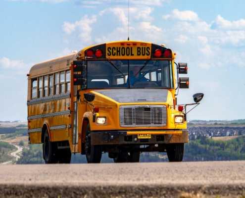 School Bus with Ignition Interlock