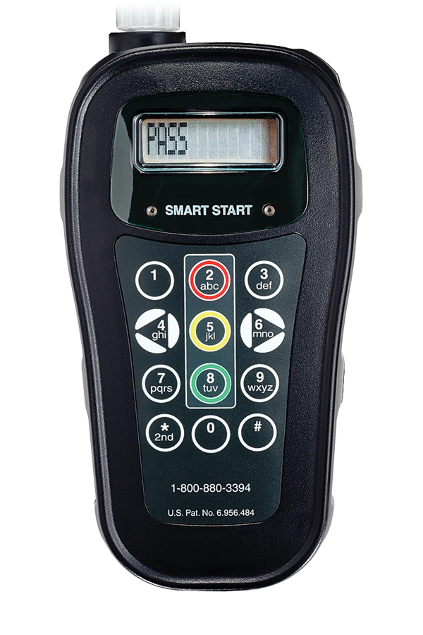 Photo of the SSI 20/20™ Ignition Interlock Device