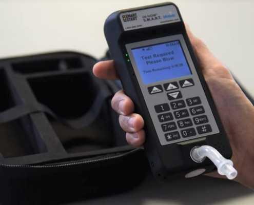 SmartMobile portable alcohol monitoring device